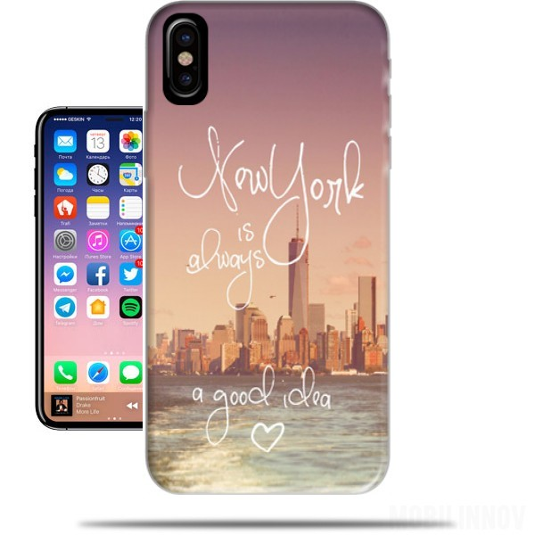 coque new york iphone 7