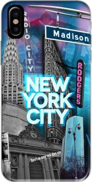 coque Iphone 6 4.7 New York City II [blue]