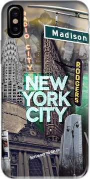 coque Iphone 6 4.7 New York City II [green]