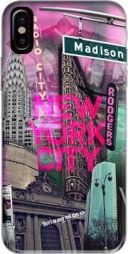 coque Iphone 6 4.7 New York City II [pink]