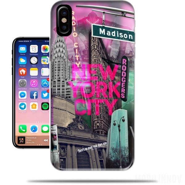 coque new york iphone x