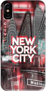 coque Iphone 6 4.7 New York City II [red]