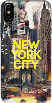 coque Iphone 6 4.7 New York City II [yellow]