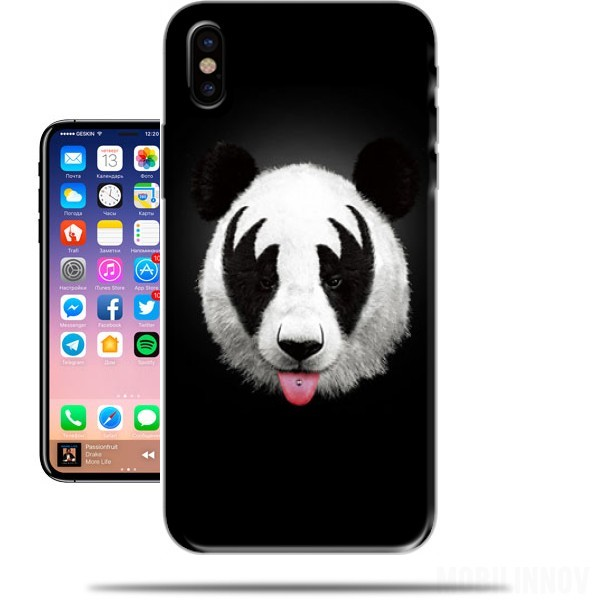 coque iphone x panda