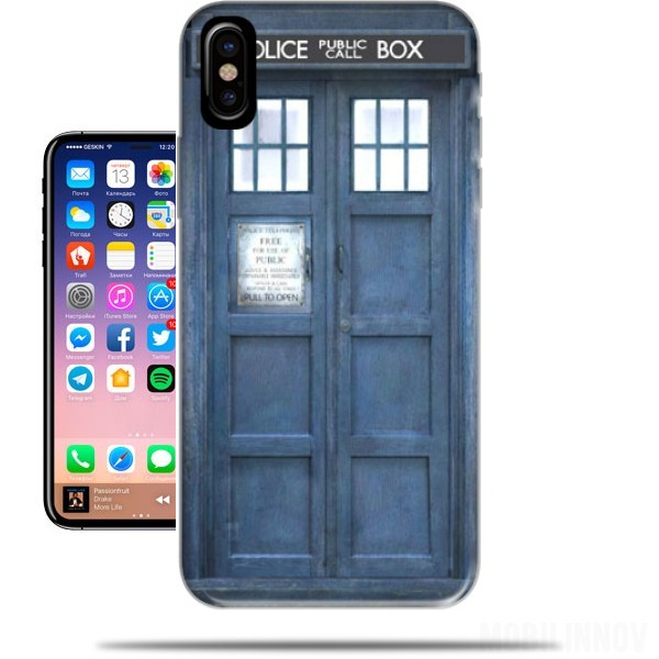 coque iphone x police