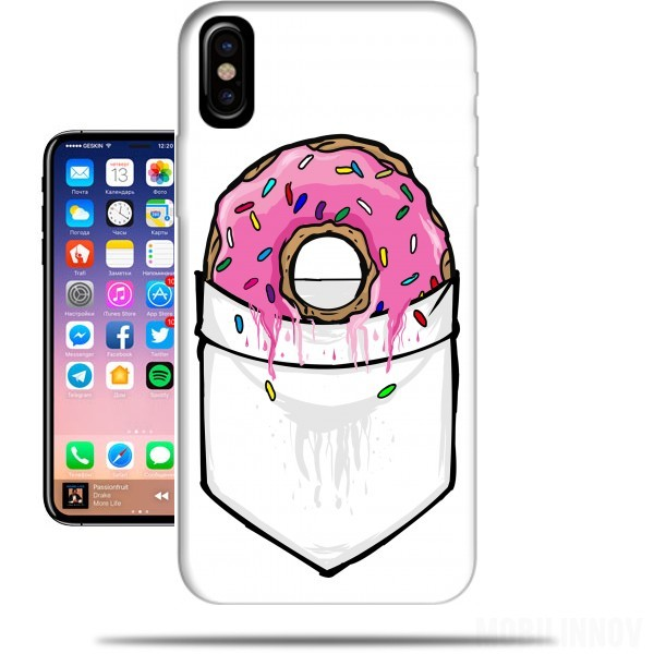 coque iphone x donut