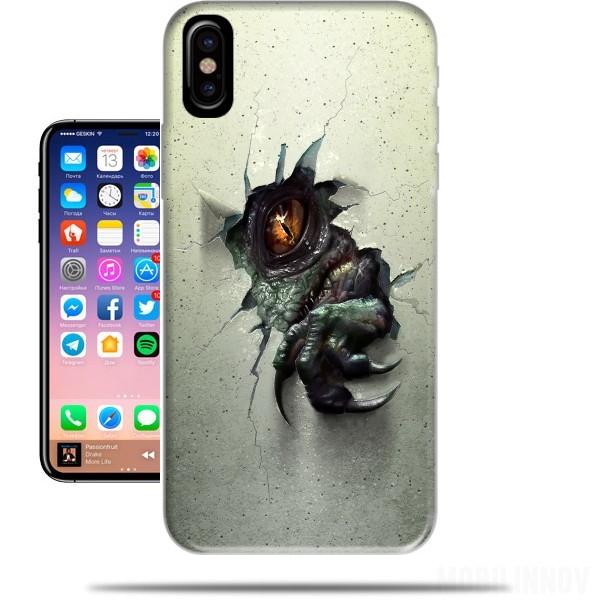 coque iphone x raptors