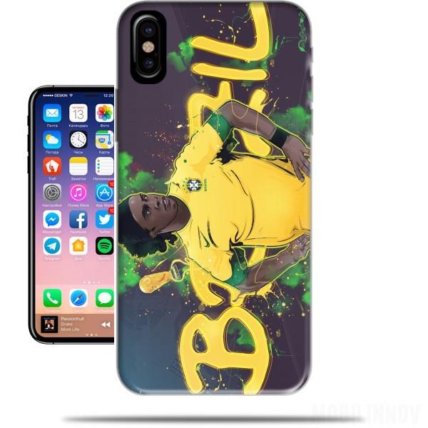 coque iphone x ronaldinho
