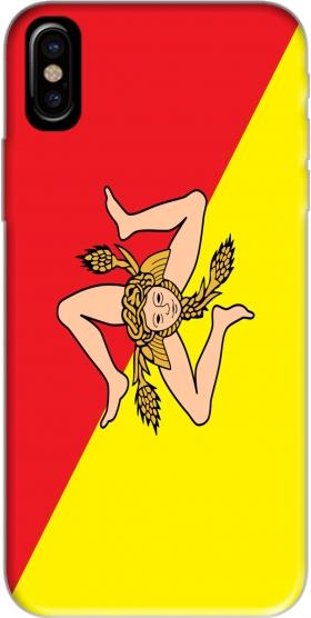 Coque Sicile Flag