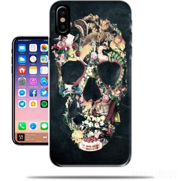 skull coque iphone x