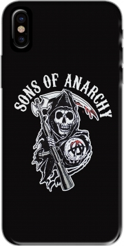 Coque Sons Of Anarchy Skull Moto