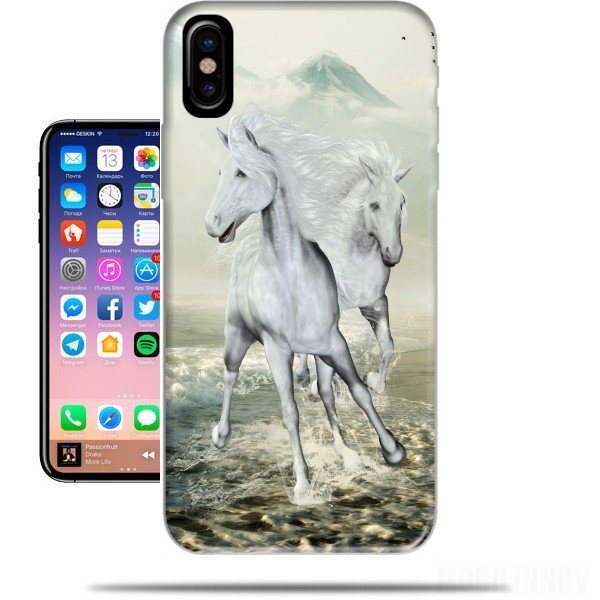 coque iphone x cheval