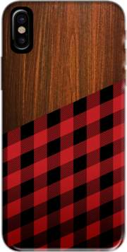 coque Iphone 6 4.7 Wooden Lumberjack