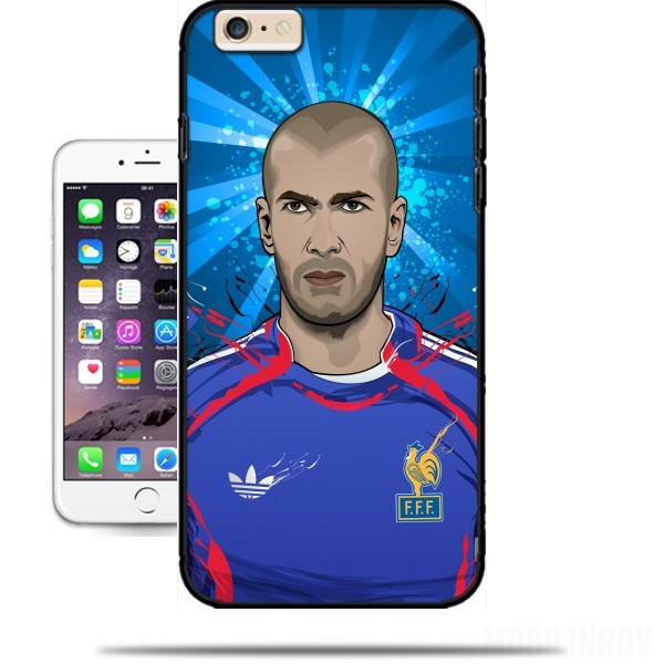 coque zidane iphone 6
