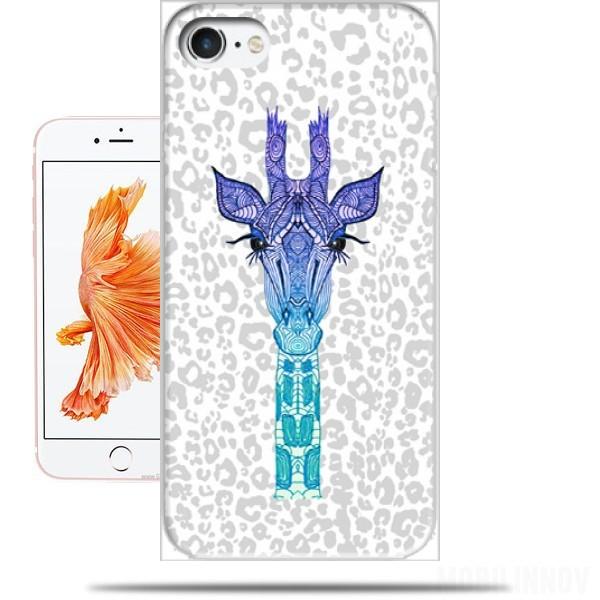 coque girafe iphone 8