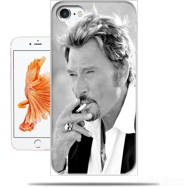 coque iphone 8 johnny hallyday