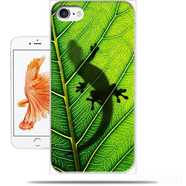 coque iphone 8 lezard