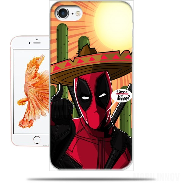 coque iphone 8 deadpool