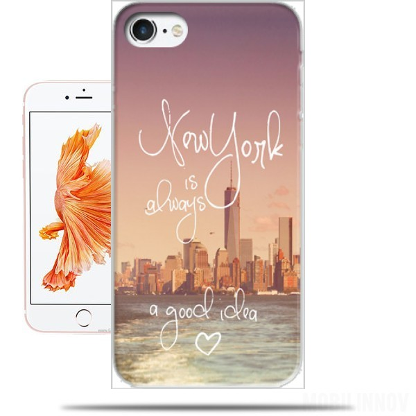 coque iphone 8 new york