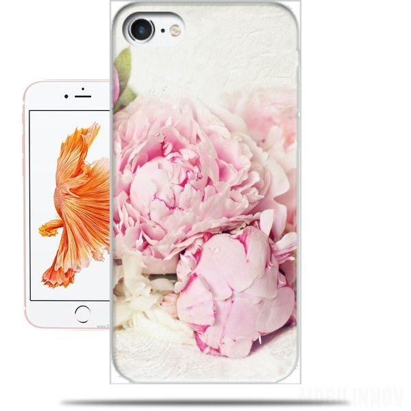 coque iphone 5 pivoine