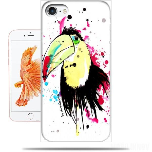 coque iphone 8 toucan