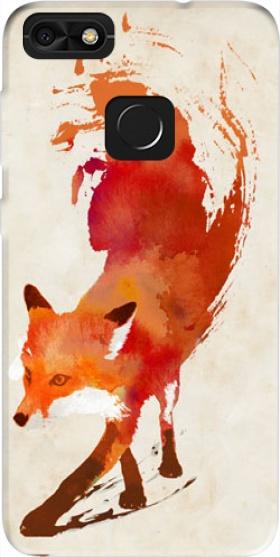 coque huawei p9 lite fox