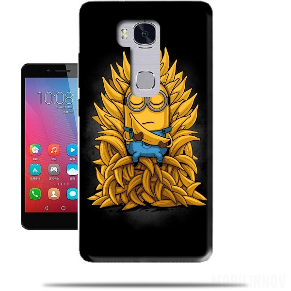 coque huawei honor 5x minion throne. Black Bedroom Furniture Sets. Home Design Ideas