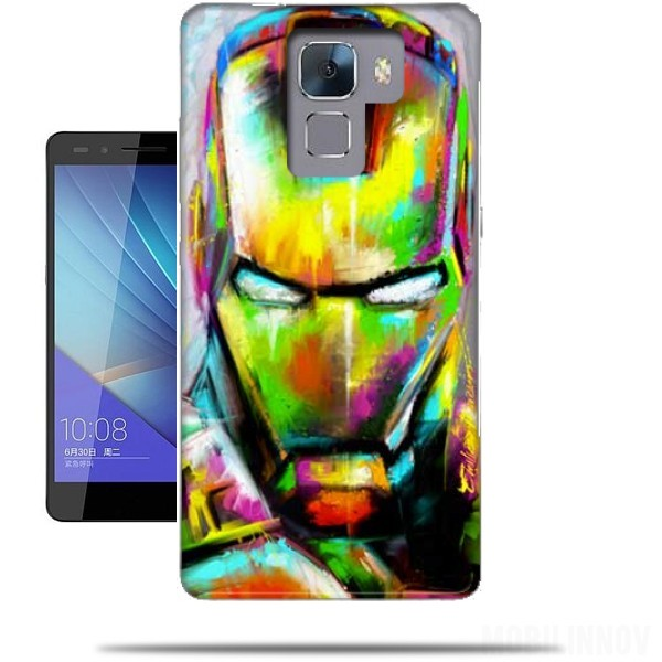coque iron man huawei