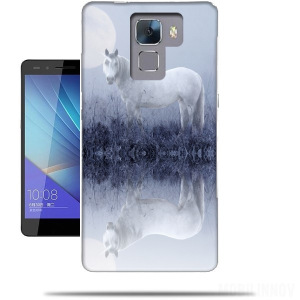 coque licorne huawei honor 7