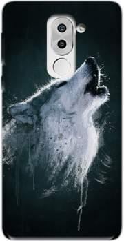 coque huawei loup