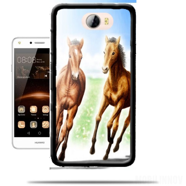 huawei p10 coque cheval