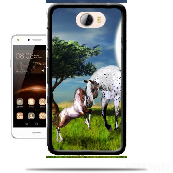 huawei y6 2017 coque cheval