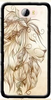 coque huawei y5 ii lion