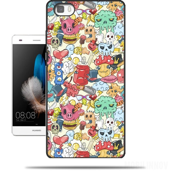 coque huawei p8 lite swag
