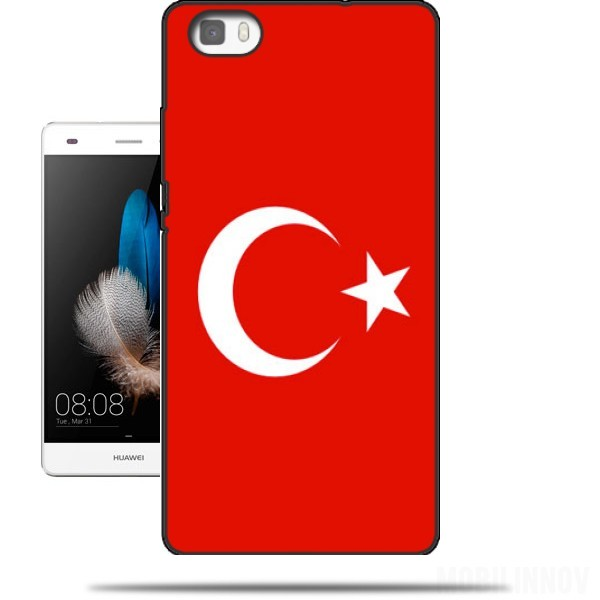 coque iphone x drapeau turc