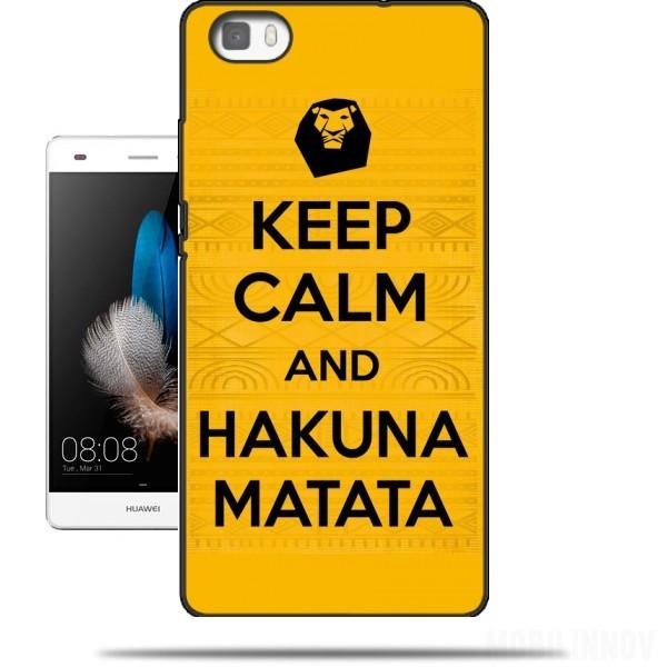 coque huawei p8 lite hakuna matata