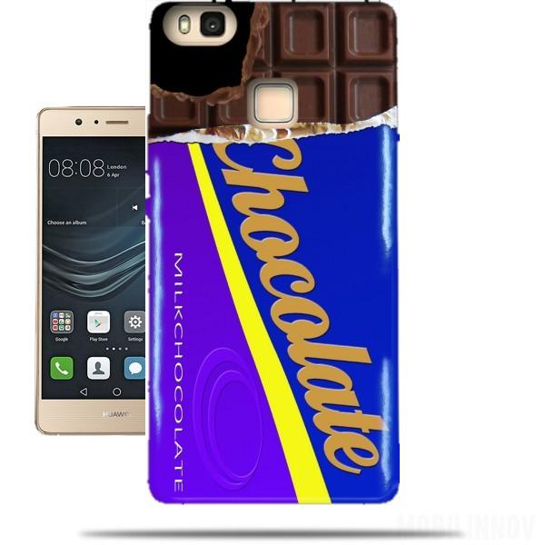 coque huawei p9 lite chocolat