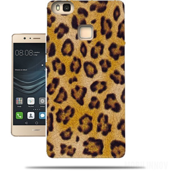coque huawei p9 lite leopard