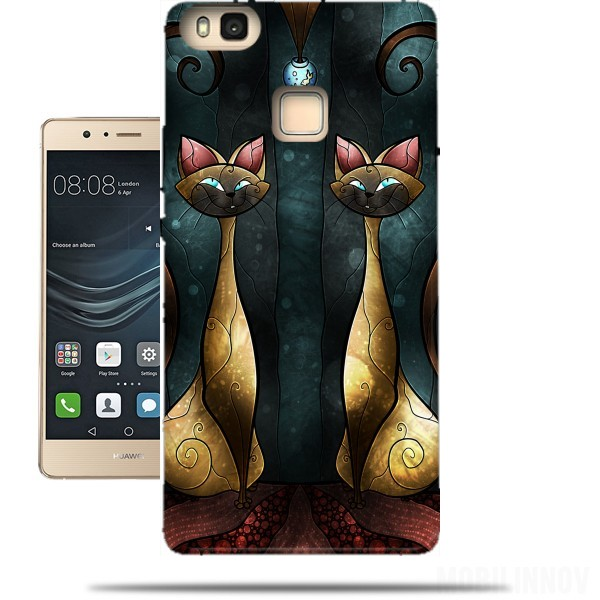 huawei p9 coque chat