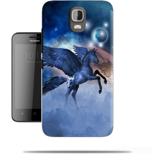 coque huawei y360 cheval