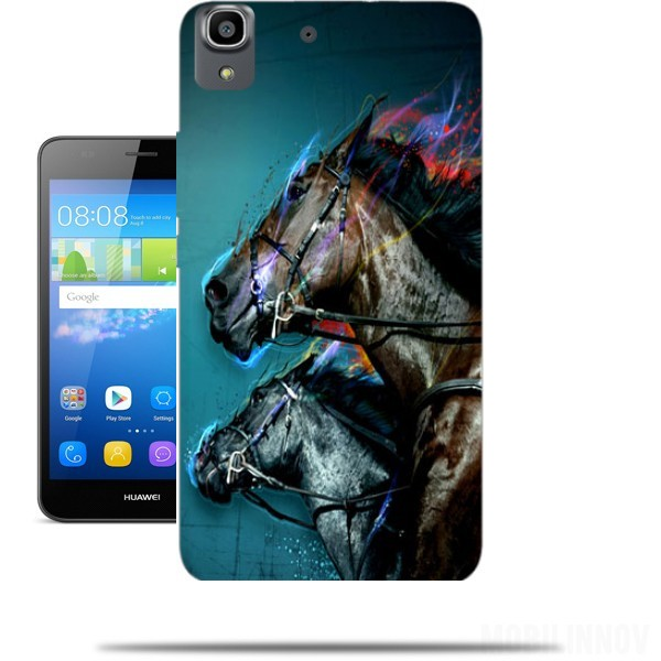 coque huawei y6 cheval