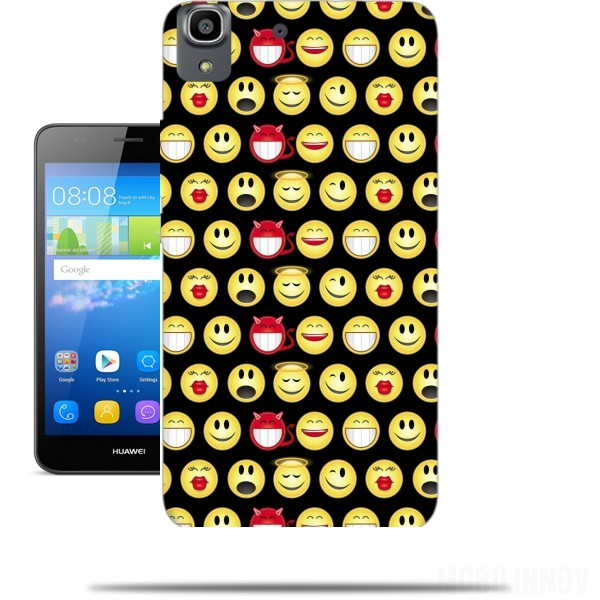 coque smiley huawei y6 2017