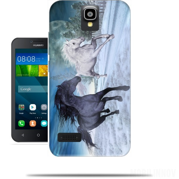 coque huawei y5 ii cheval