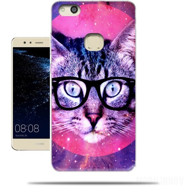 huawei p10lite coque chat