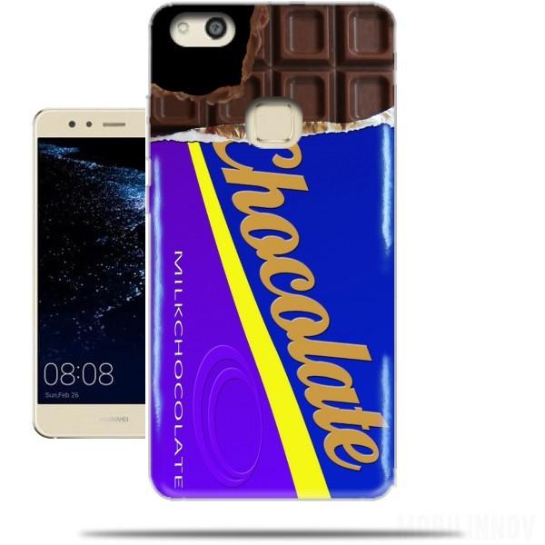 coque huawei p10 lite chocolat