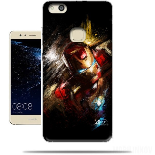 coque iron man huawei p10
