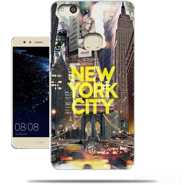 coque huawei p10 lite new york