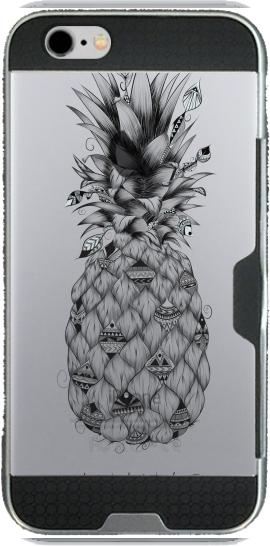 coque iphone 6 transparente ananas