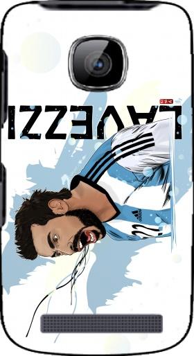 Coque Nokia Asha 210 Football Stars: Ezequiel Lavezzi - Argentina en ...