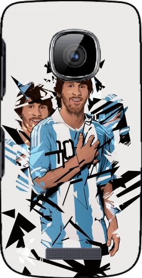 coque Football Legends: Lionel Messi Argentina pour Nokia Asha 311